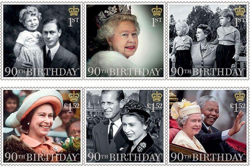 La reina Isabel II cumple 90 años y tiene 64 años de reinado.
