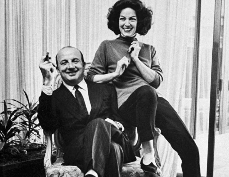Alex Berger fue su marido de 1956 a 1974, cuendo él murió y ella enviudó por segunda vez.