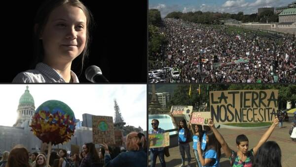 """""""Hemos probado que sí podemos hacer la diferencia"""", dice Greta Thunberg"""