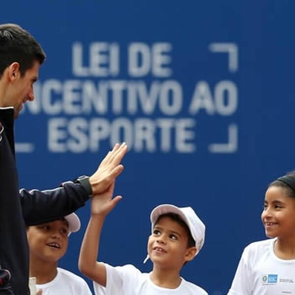 Djokovic - Río de Janeiro, favelas 9