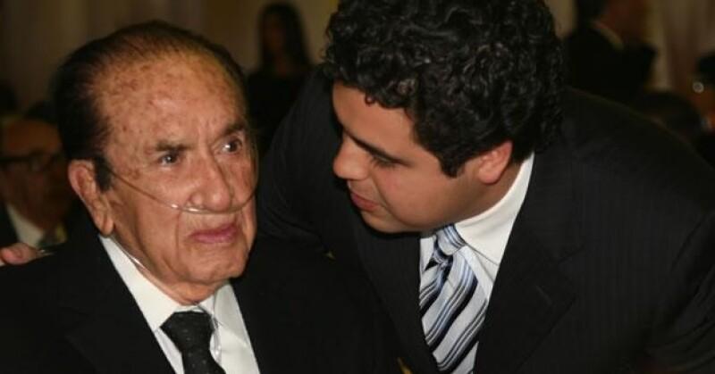 Don Antonio Leaño y Marcelo Michel.