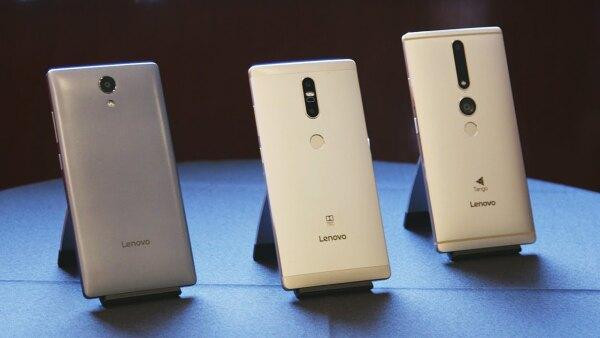 El Phab 2 Pro es el primer móvil para ambientes de realidad aumentada.