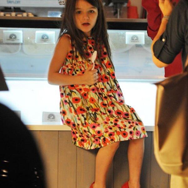 Con tan sólo seis años de edad, Suri Cruise es una de las niñas más famosas del espectáculo.