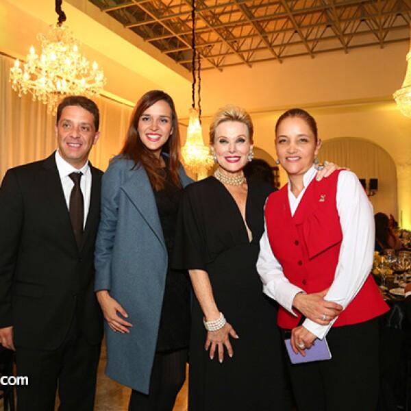 Marco Landucci,María Fernanda Landucci,Raquel Bessudo y Ana Paula González