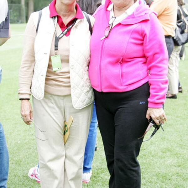 Pamela Morales y Silvia López