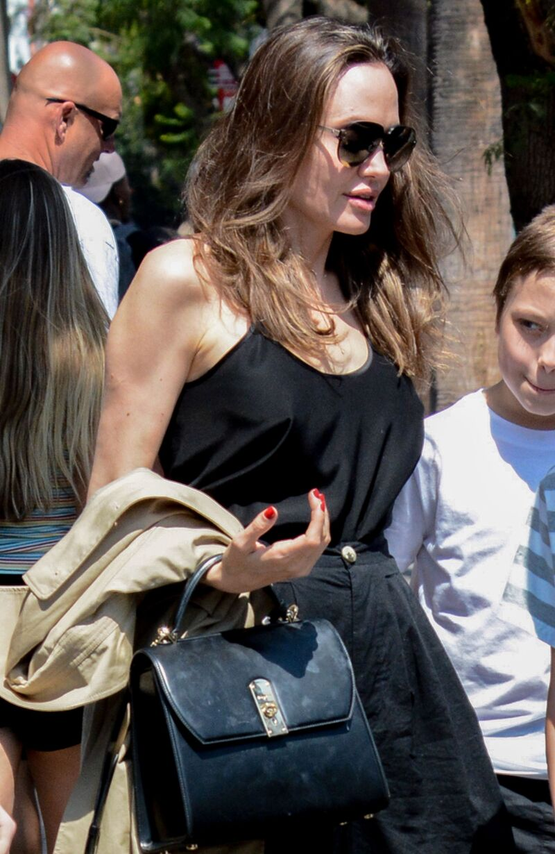 Angelina Jolie out and about, Los Angeles, USA - 06 Jul 2019