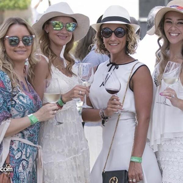 Cinthia Cedeño,Juliana Martínez,Sidi Puente y Melissa Palazuelos