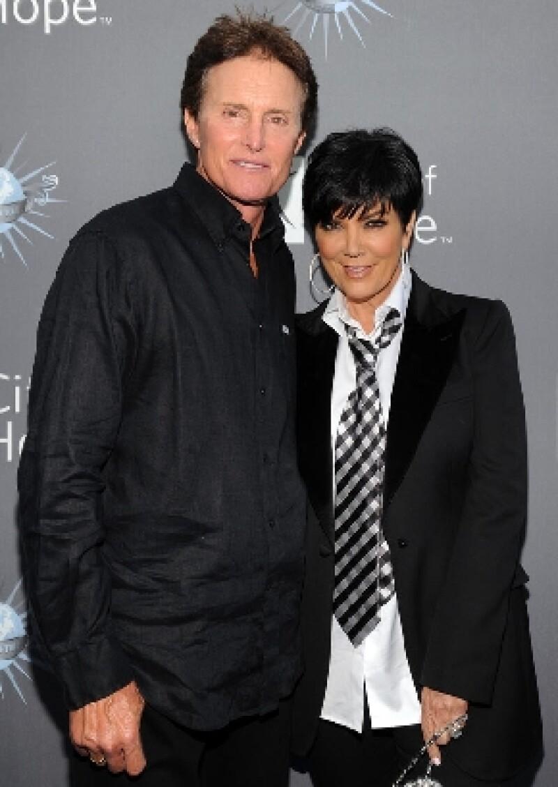 La matriarca del clan Kardashian y el medallista olímpico confirmaron este martes que viven separados desde hace algunos meses, pero que mantienen una excelente relación de amistad.