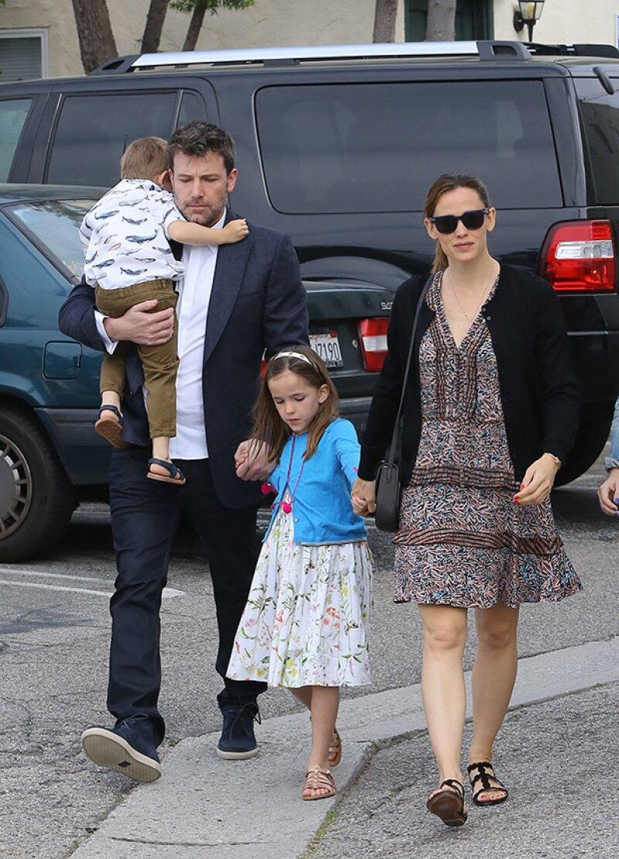 La familia se dejó ver junta en domingo de Pascua.