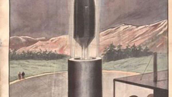 Investigaci�n espacial. Cr�dito: Archivo de la Bibliot�que Nationale de France