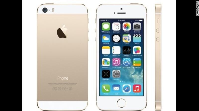 iphone dorado, 5s, apple