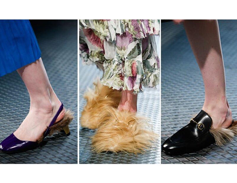 Los zapatos de Alessandro Michele.
