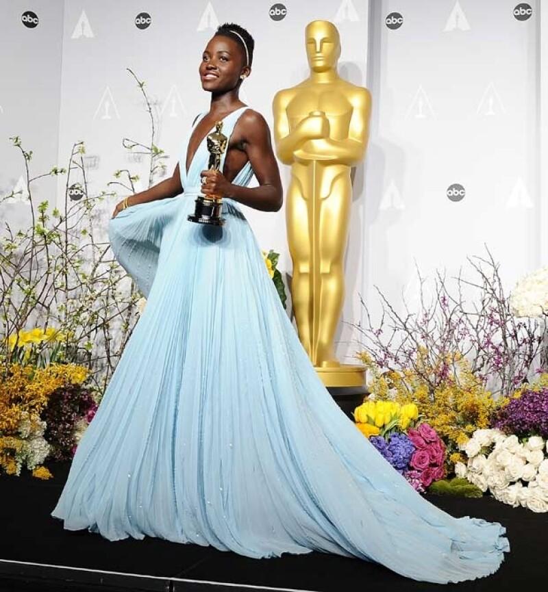 Durante su discurso de agradecimiento en los Oscar, dijo que que ella era el ejemplo de que los sueños de un niño se pueden hacer realidad.