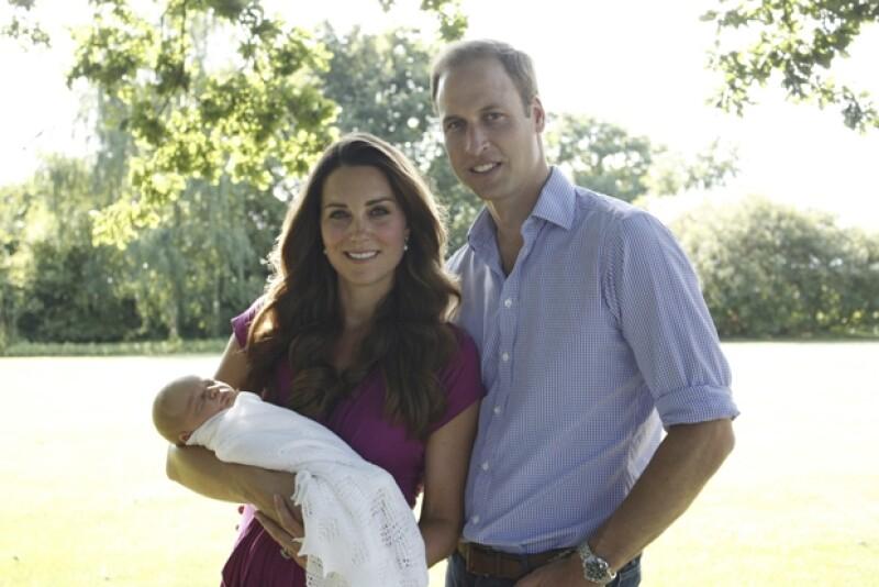 Las fotos fueron tomadas a principios de este mes por el padre de Kate, Michael Middleton.