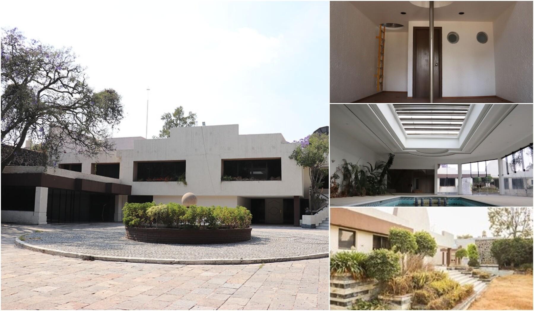 El gobierno vende casa del 'Señor de los Cielos' en la CDMX
