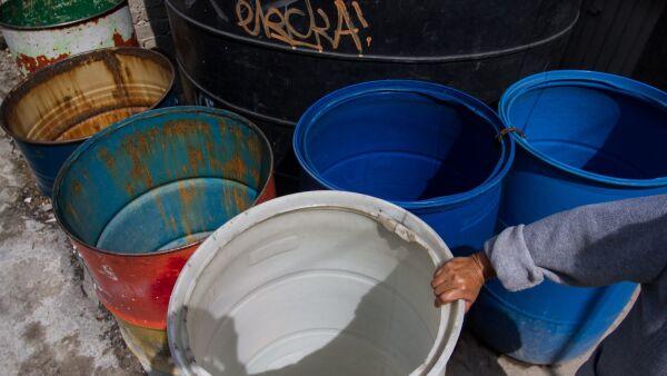 Agua en la CDMX