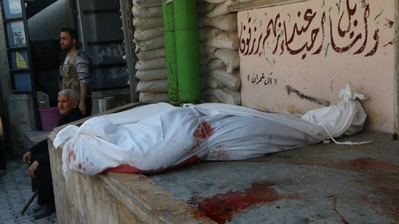 aleppo muertos siria