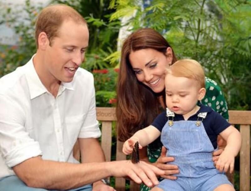 Fue en ese mismo museo donde baby George celebró su primer aniversario.