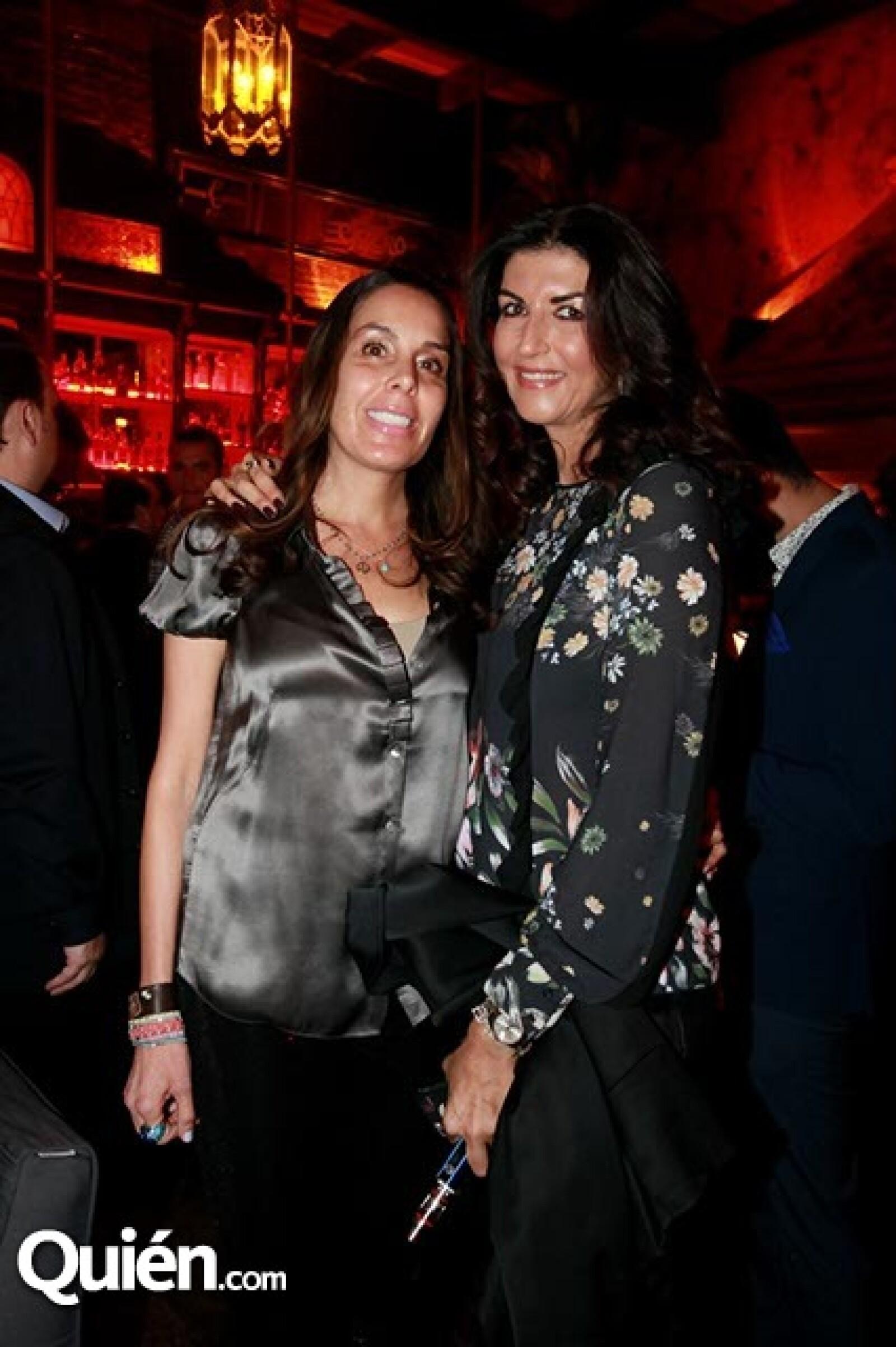 Luliana Vázquez y Eva Saba