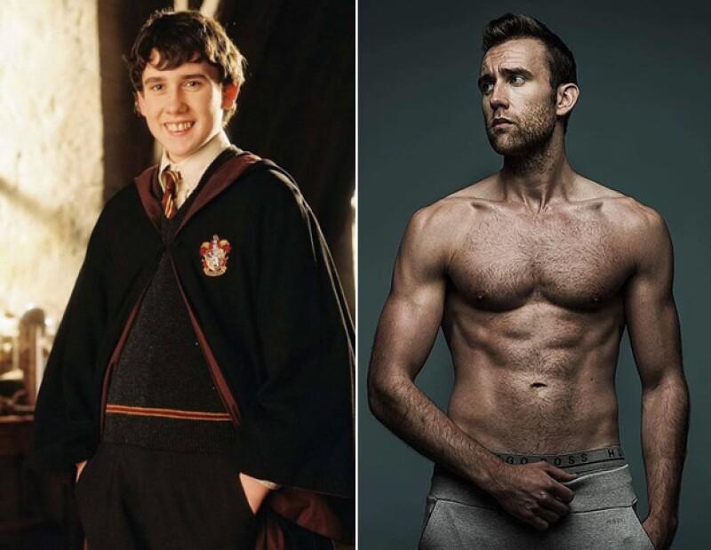 Matthew Lewis no necesitó magia para ser sexy.