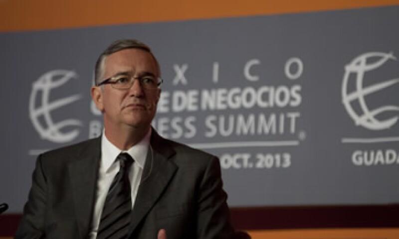 Ricardo Salinas Pliego lamentó que el Gobierno sea el empresario de la educación en México. (Foto: Dayán Jiménez)