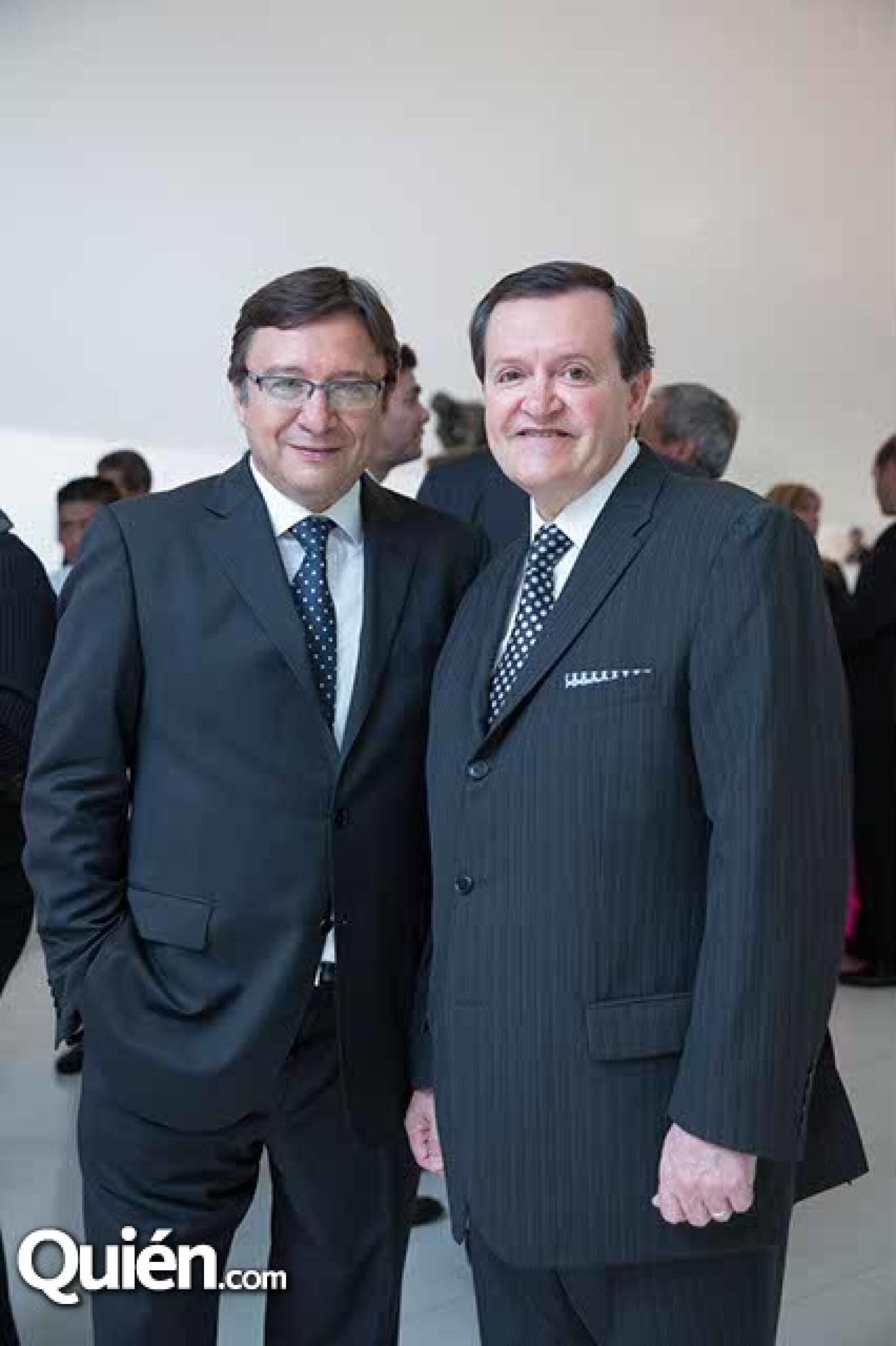Manuel Quintanero y Jose María Zas
