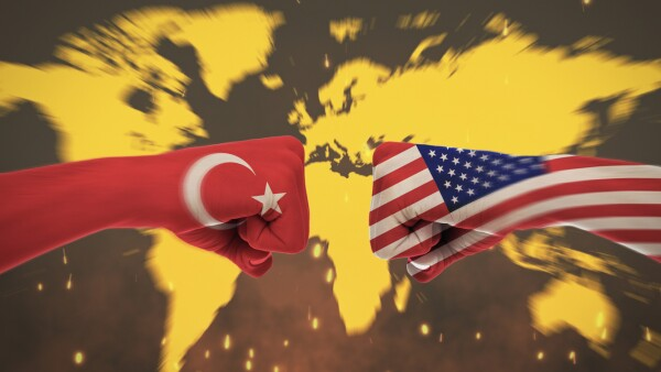 Conflicts Between Countrie, America Turkey
