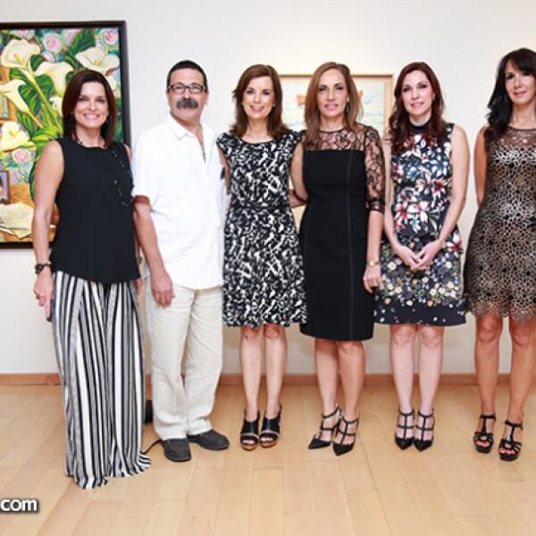 Zandra Gámez de Meouchi,Sergio Galán,María Teresa Fernández de Galán,Isabel Ruenes de Martin,Laura Garza de Garza e Isabel Roesch de Rubies