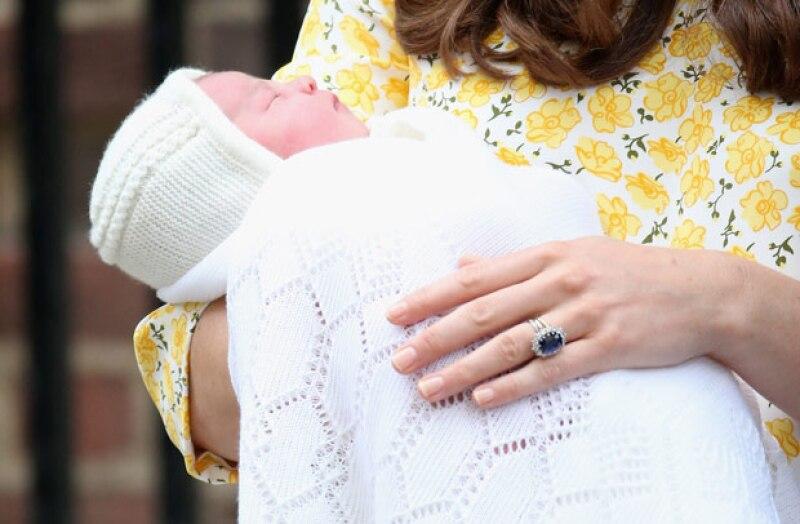 Esta es la primer fotografía de la hija de los Duques de Cambridge.