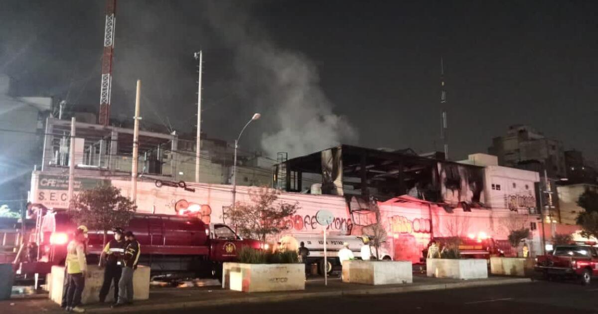 El incendio en la subestación de CFE fue causado por falla en un transformador