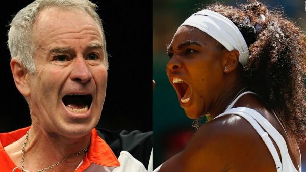 El set inesperado: Serena vs. McEnroe