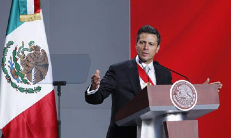 El presidente Enrique Peña anunció este sábado sus primeras decisiones de Gobierno. (Foto: Reuters)