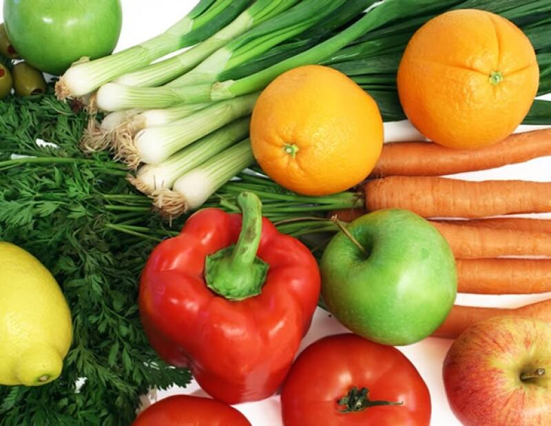 La dieta del vegetariano se basa 100% en alimentos de origen vegetal.