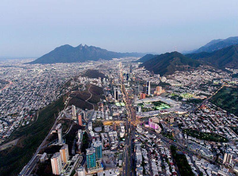 panor�mica de Monterrey