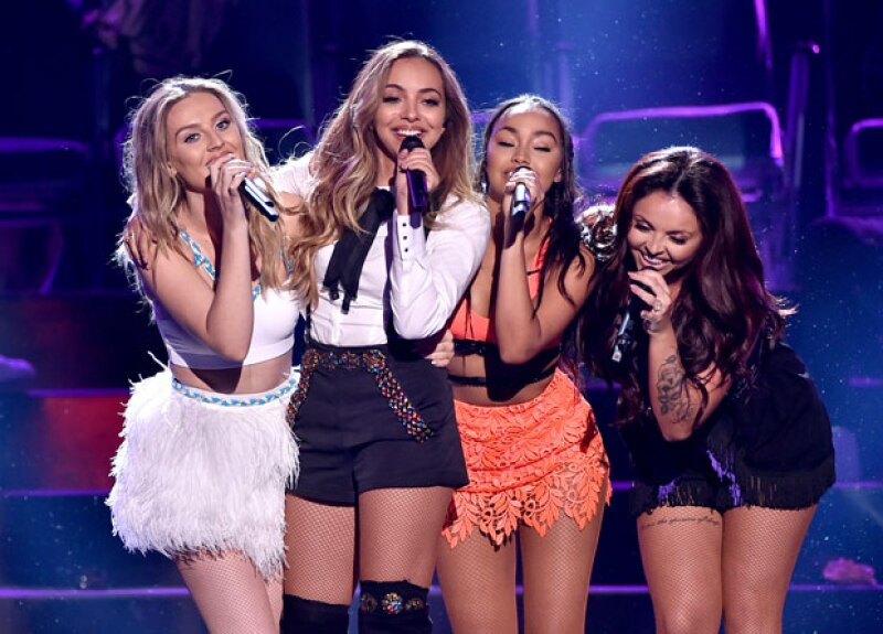 Little Mix ganó el premio como Break Out Artist en los Teen Choice Awards.