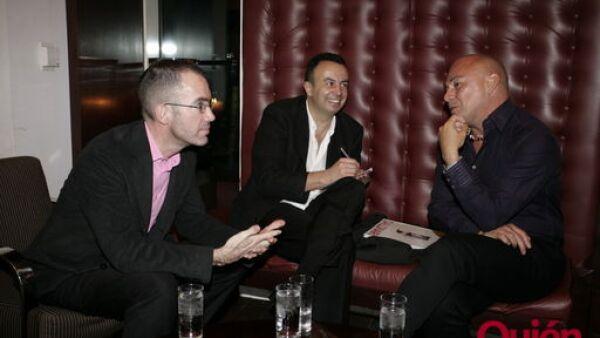 Jeff Hohenstein, Agustín Portilla, Cesar Saldivar