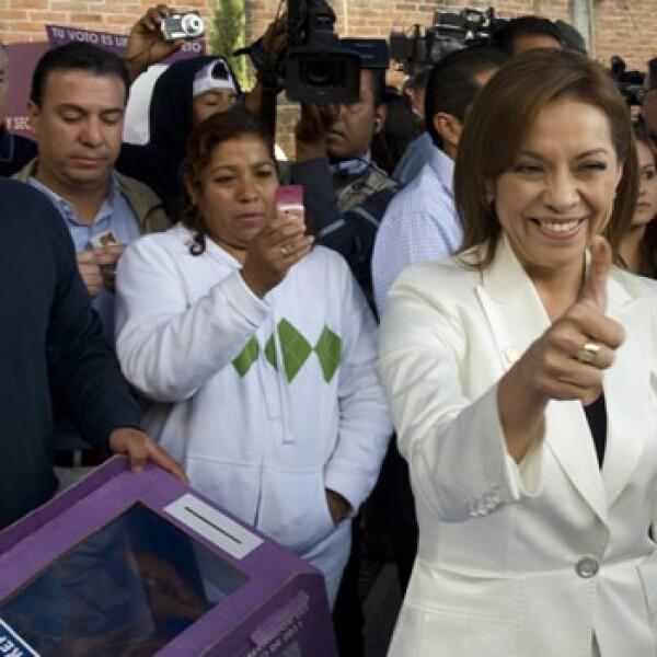 Josefina voto elección