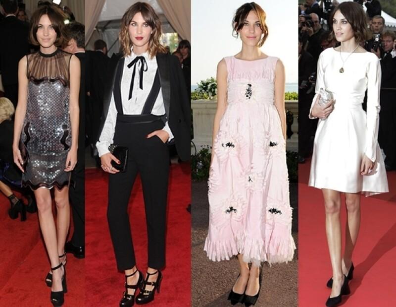 Recientemente Alexa recibió en los British Fashion Awards el premio a la mujer mejor vestida.