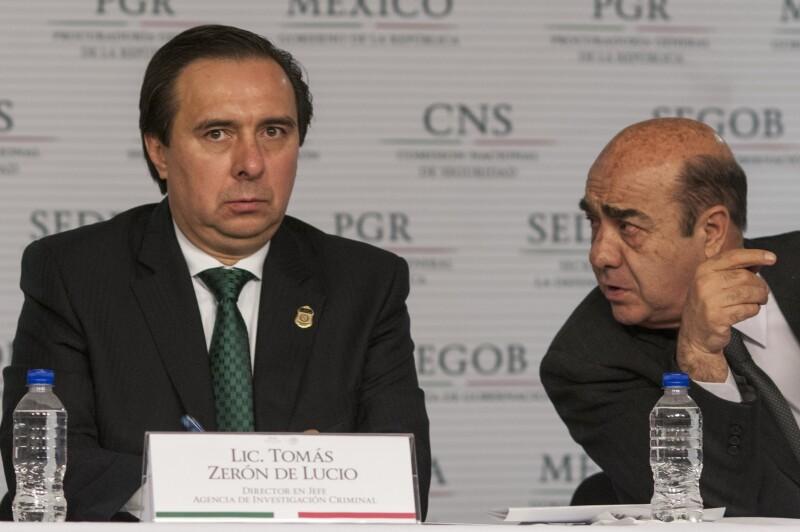 Tomás Zerón y Jesús Murillo Karam