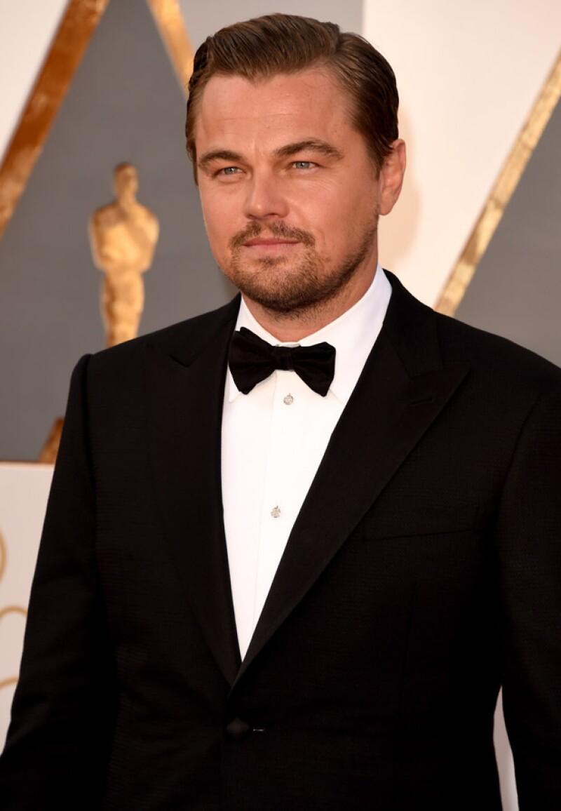 Leonardo se cortó la mano debido a la intensidad de su actuación en el filme de Quentin Tarantino.