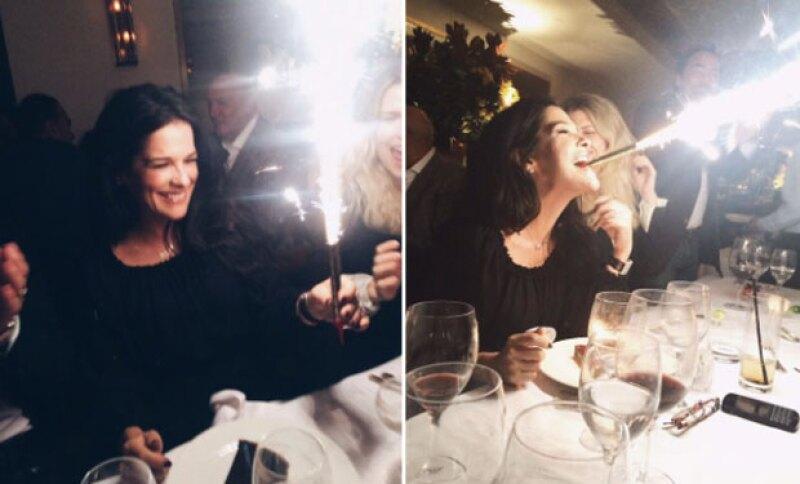 Martha Debayle celebró su cumpleaños y no pudo hacerlo de mejor manera, pues estuvo acompañada por amigos y familiares.