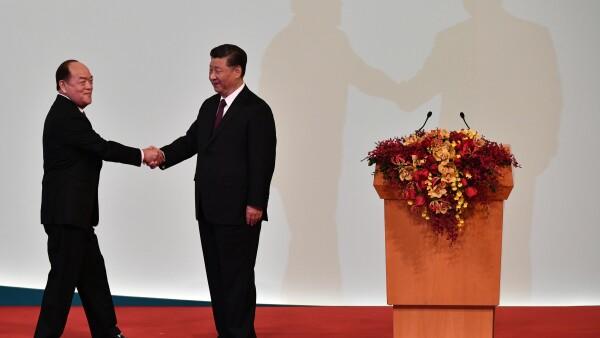 MACAU-CHINA-HONG KONG-POLITICS-ANNIVERSARY