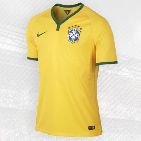 La canarinha es uno de los icónicos equipos de la firma norteamericana Nike; el primer Mundial en el que patrocinó su playera fue en 1998.