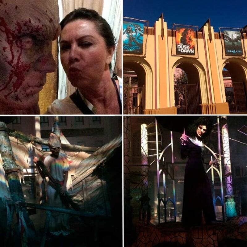 Eiza González y su mamá vivieron una noche de verdadero horror.