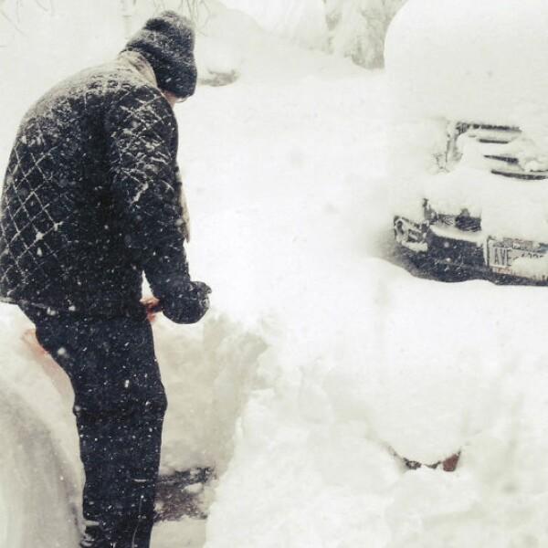 Las fuertes nevadas en Estados Unidos provocarón un estado de emergencia en el oeste de Nueva York