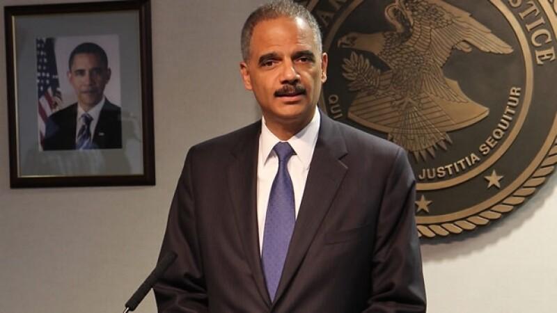 El secretario de Justicia de Estados Unidos durante una comparecencia