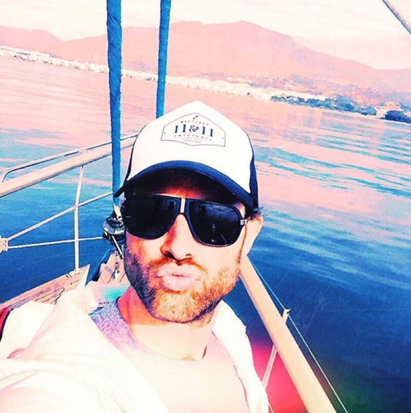 Nada como un paseo en yate por el mar Mediterráneo. ¡Qué envidia le tenemos a Sebastián!