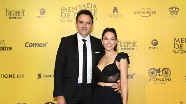 Fernando Rovzar y Bárbara Mori