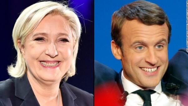 La disputa entre Macron y Le Pen calma a mercados franceses