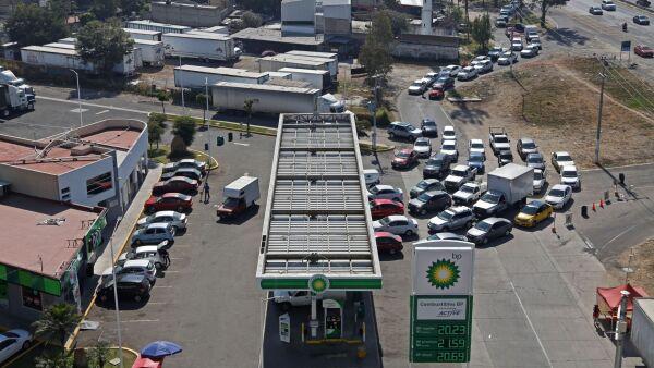 Jalisco gasolina Pemex Amegas